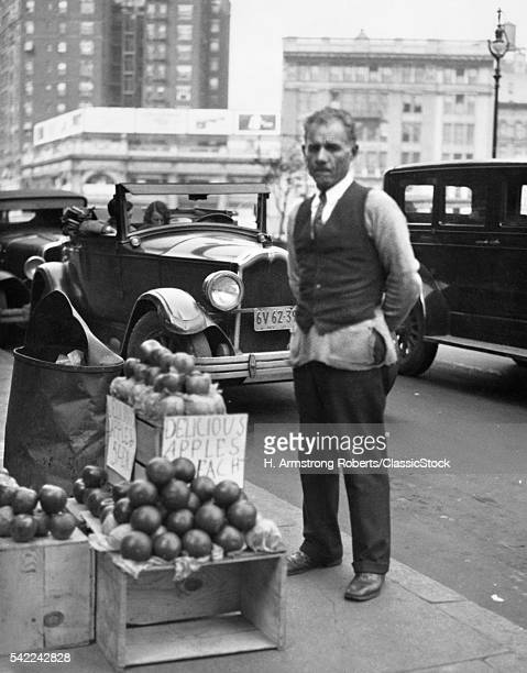 1930s SIDEWALK APPLE...