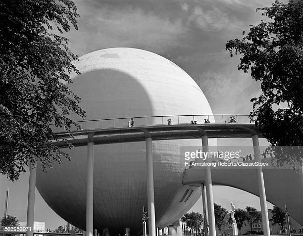 1930s THE PERISPHERE 1939 NEW YORK WORLD'S FAIR