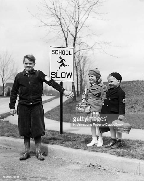 1930s TWO CHILDREN BOY...