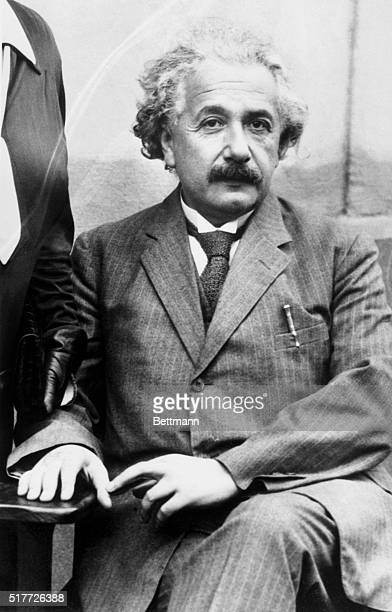1931Albert Einstein Seated in portrait