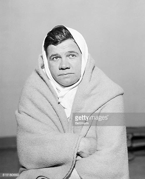New York, NY - In fine fettle and ready for the coming season, Babe Ruth started his training seige Jan. 6 in Art McGovern's gym in New York...