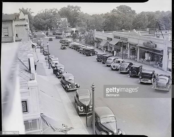 "Ridgewood, New Jersey: ""Main Street, USA,"" actually Oak Street. Photograph."