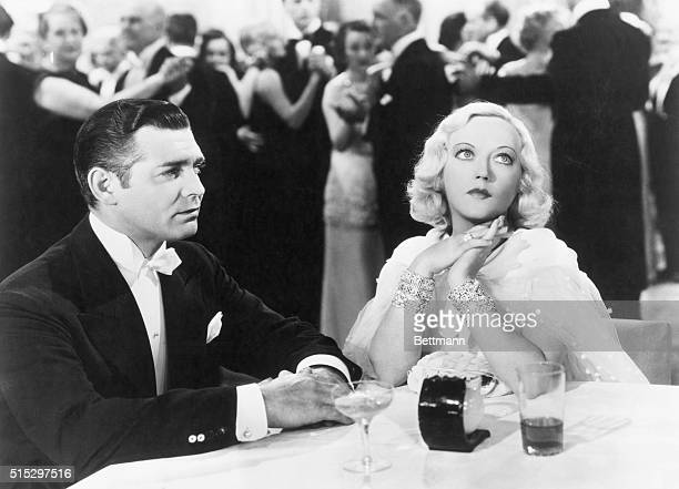 Clark Gable and costar Marion Davies in Cain and Mabel