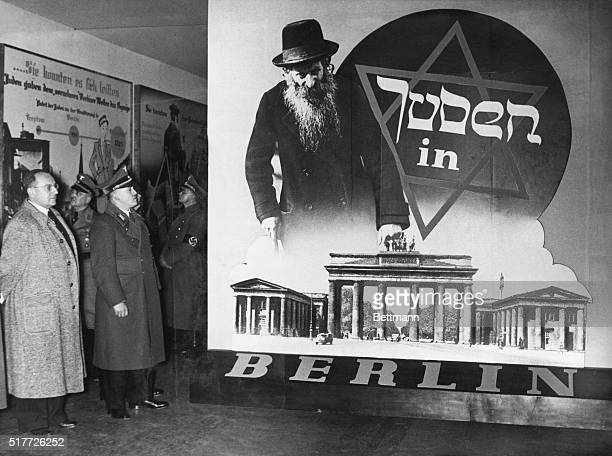 The Eternal Jew an exhibition of AntiSemitism in Berlin 1938 Photograph