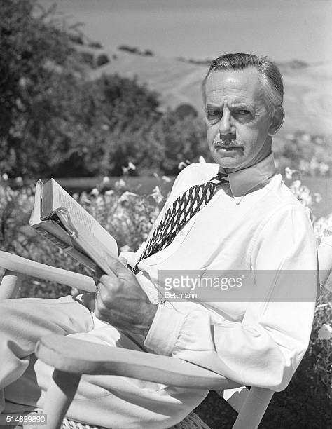 Lafayette, CA: Eugene O'Neill, noted American author and playwright to whom the 1936 Nobel Prize for letters was awarded is recuperating from a...