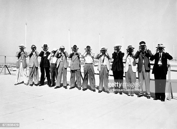 1940s 12 MEN IN A ROW...