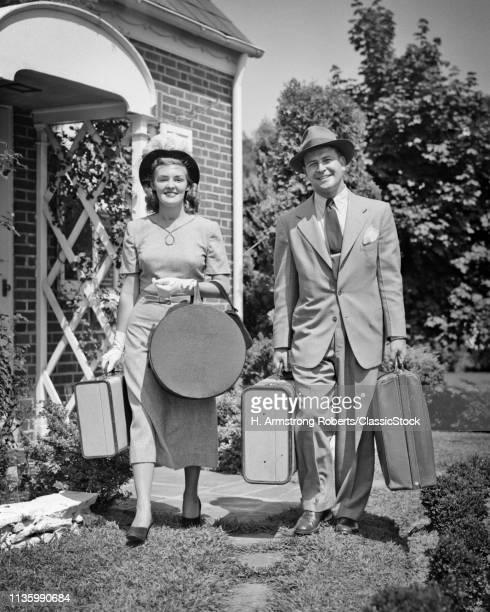 1940s 1950s COUPLE MAN...