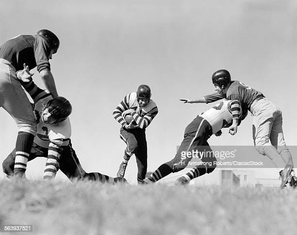 1940s 1950s FOOTBALL...