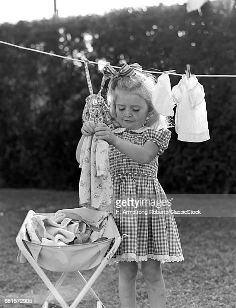 1940s 1950s GIRL GINGHAM...