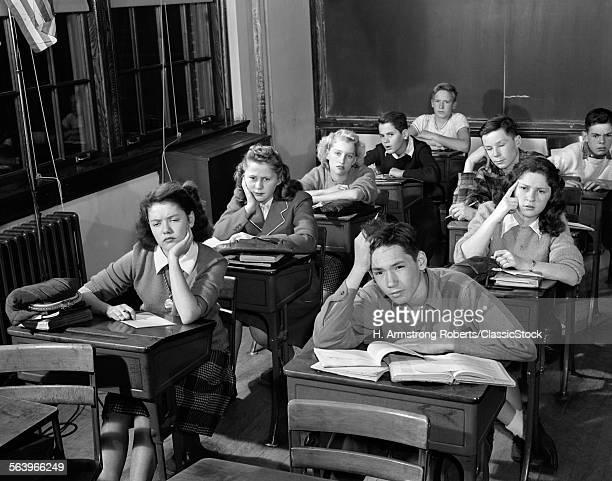 1940s 1950s HIGH SCHOOL...