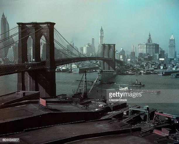 1940s BROOKLYN BRIDGE AND.