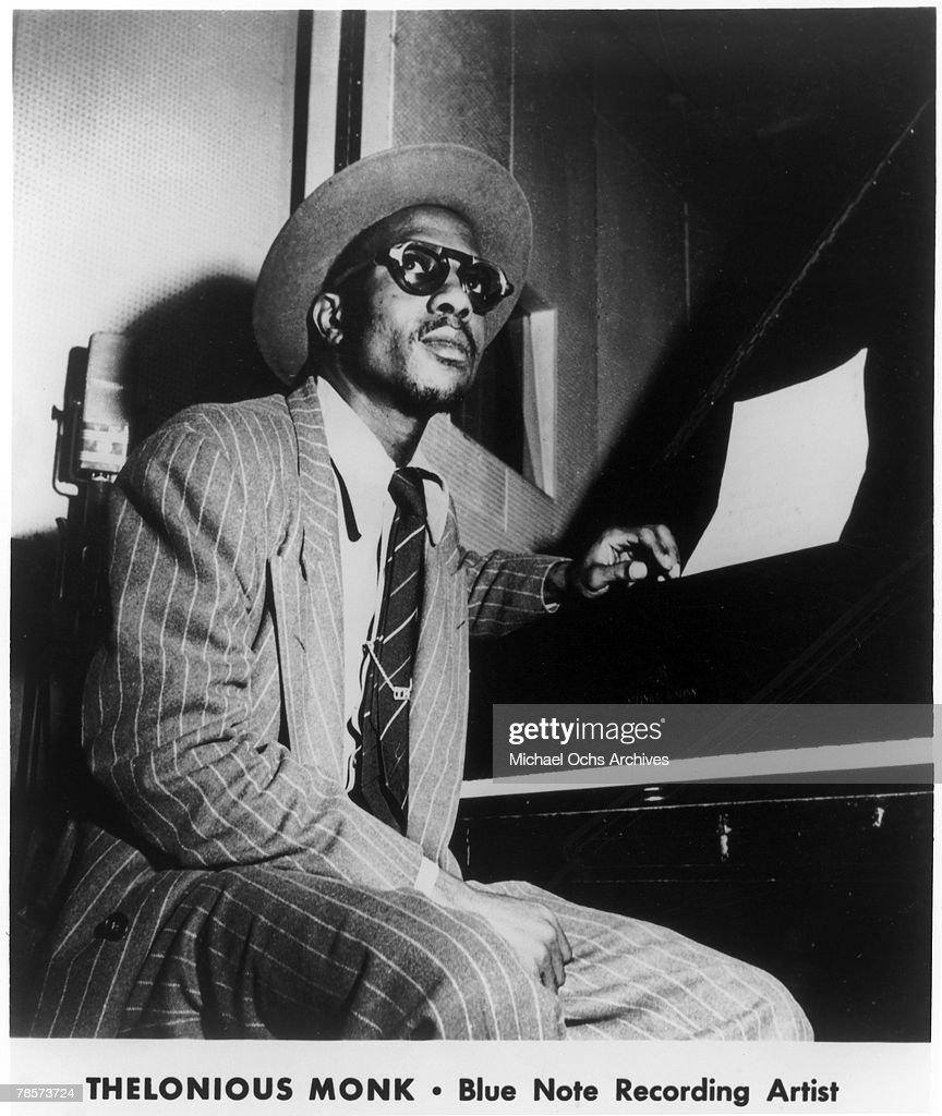Jazz Pianist Thelonious Monk : Photo d'actualité