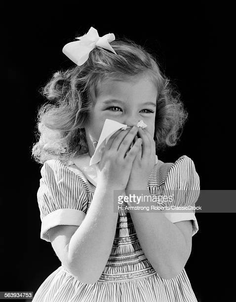 1940s LITTLE BLOND GIRL...