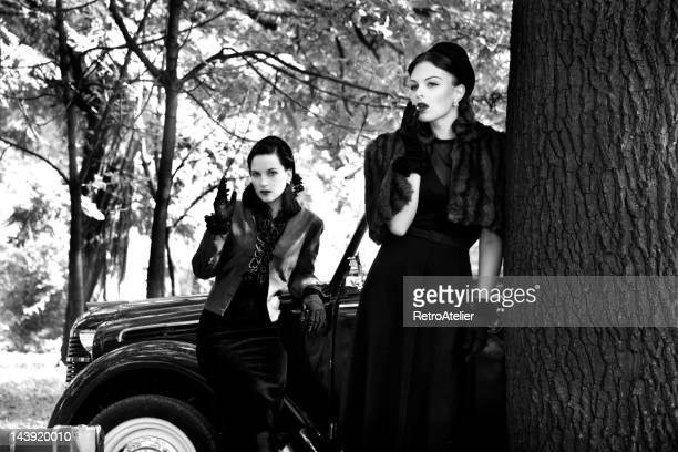 1940s Style. A Road Trip.
