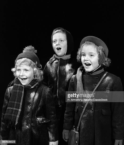 1940s THREE CHILDREN...