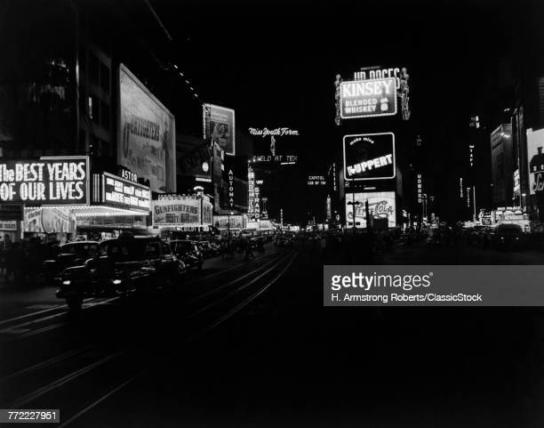 1940s TIMES SQUARE AT...