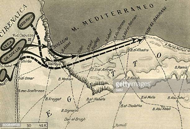 North African CampaignItalian invasion of EgyptOn 13 September 1940 about four divisions were used when elements of the Tenth Army advanced into...