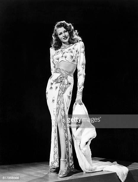 Rita Hayworth was voted by GI's their favorite pinup girl of 1945 and it isn't difficult to guess why from the way she appears in Columbia's romantic...
