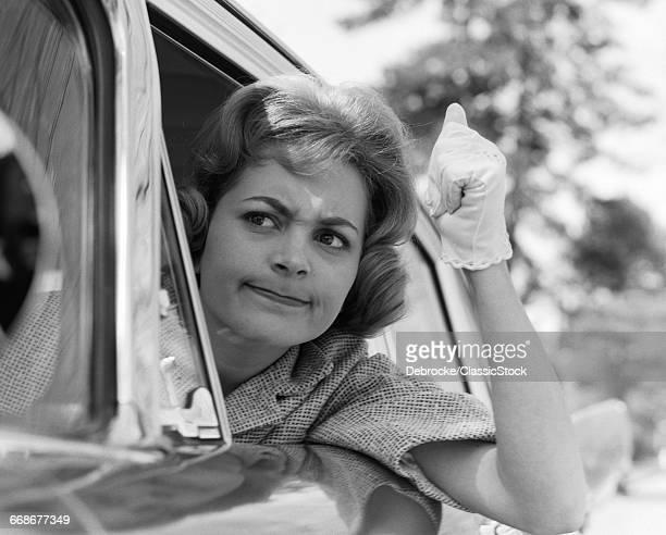 1950s 1960s ANGRY WOMAN...