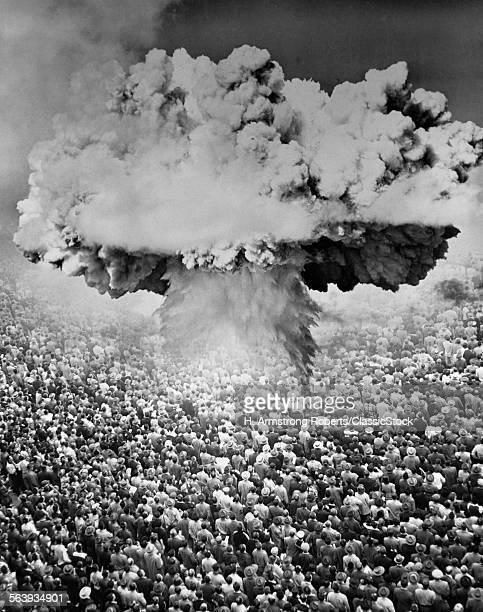 1950s 1960s ATOMIC BOMB...