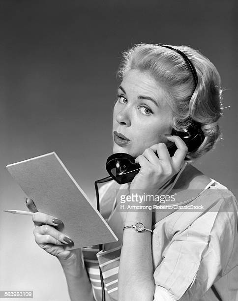 1950s 1960s BLOND WOMAN...