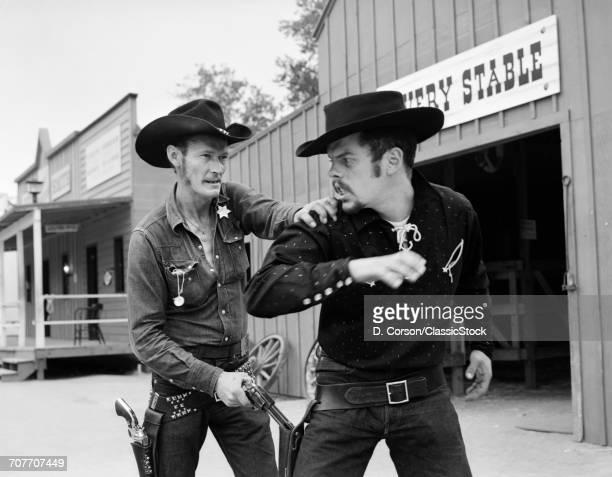 1950s 1960s COWBOY SHERIFF...
