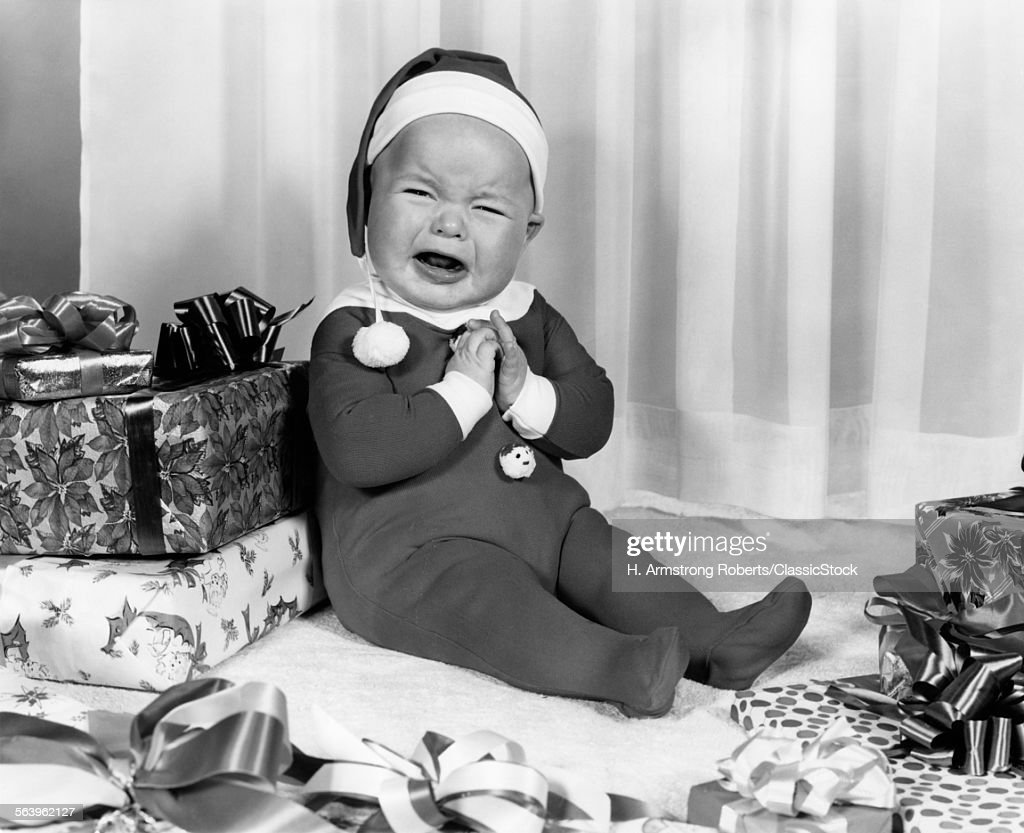 1950s 1960s CRYING BABY... : Photo