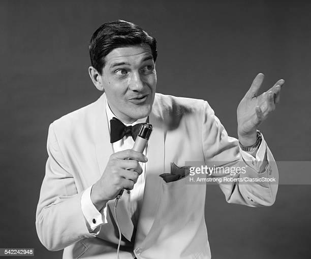 1950s 1960s MAN WHITE...