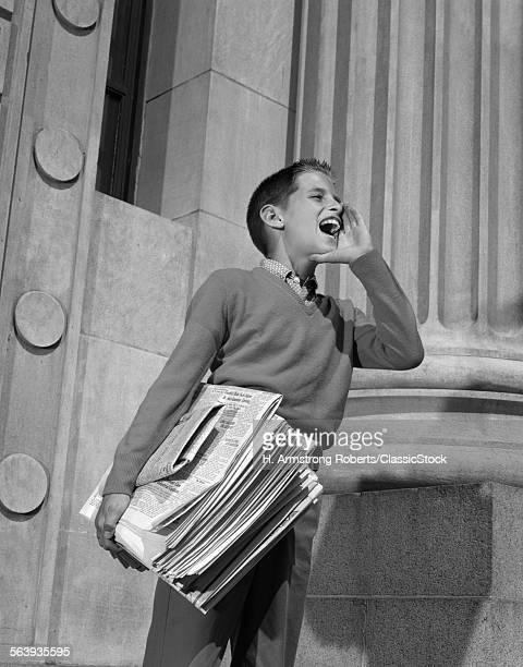 1950s 1960s PAPERBOY...