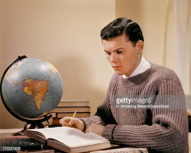 1950s 1960s TEENAGE BOY...