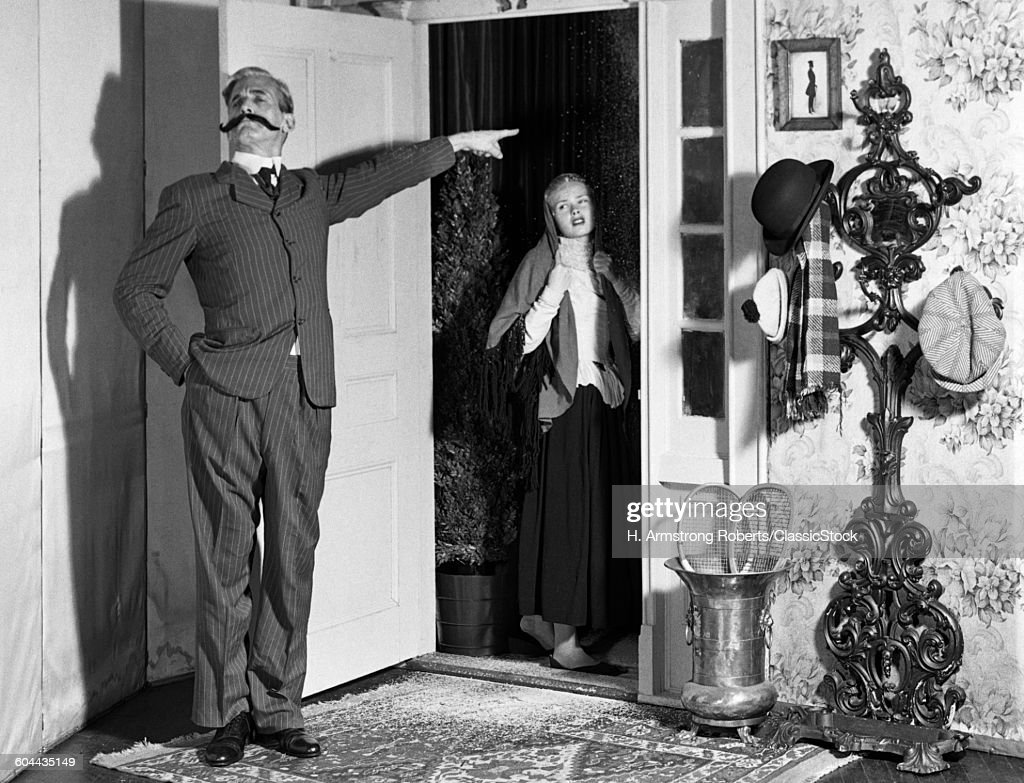 1950s AMATEUR THEATER TURN.  : News Photo