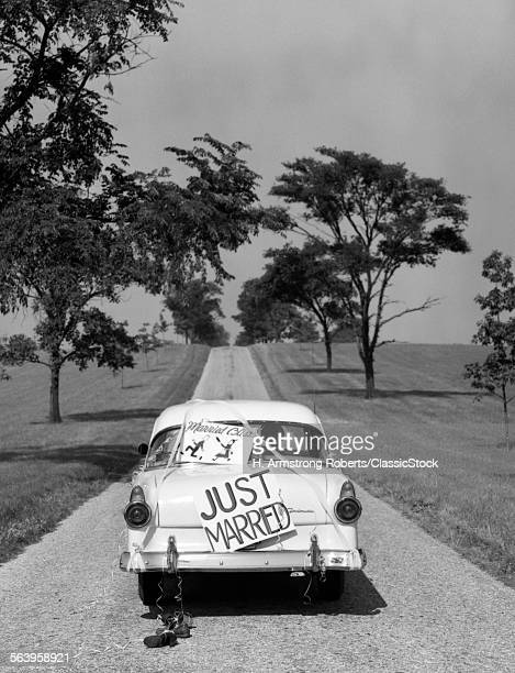 1950s BACK OF WHITE FORD...