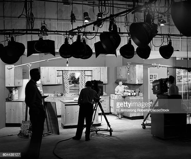 1950s BEHIND THE SCENES OF.