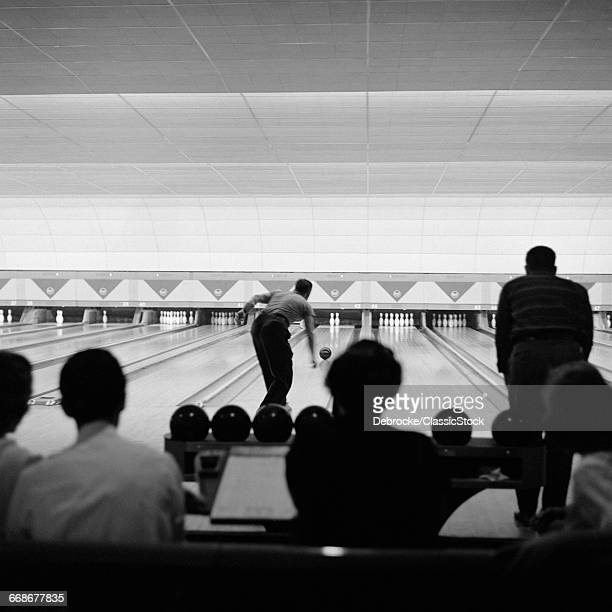 1950s BOWLING ALLEY...