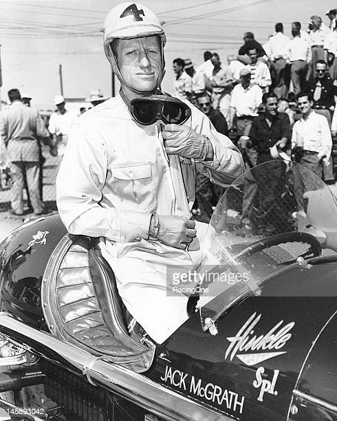 Californian Jack McGrath started his racing career in midgets at Los Angeles' Gilmore Stadium in the late 1940s He won the first California Roadster...