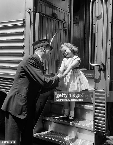 1950s CONDUCTOR GREETING...