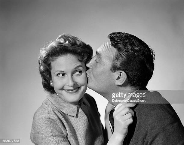 1950s COUPLE ENTHUSIASTIC...