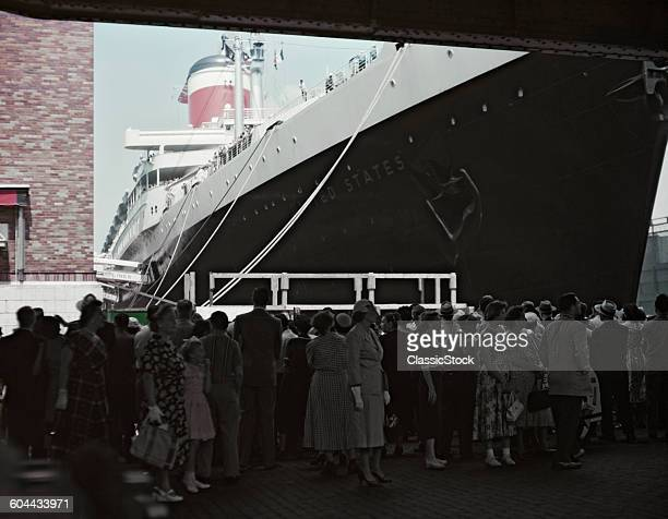 1950s CRUISE SHIP THE SS.