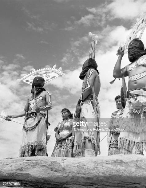 1950s GROUP OF NATIVE...