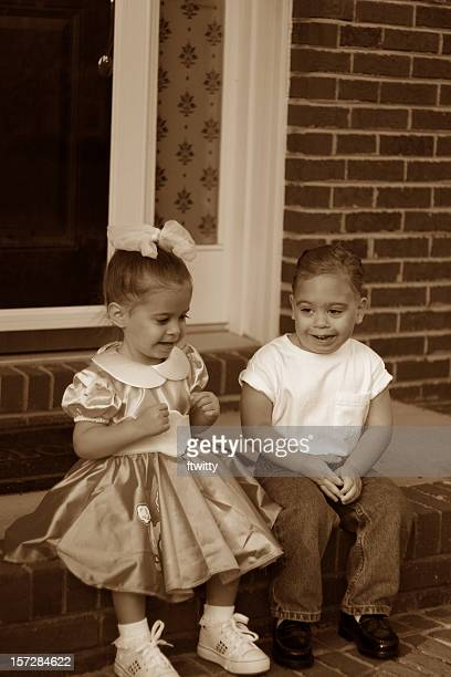 1950s kids - henry winkler [ family] stock pictures, royalty-free photos & images