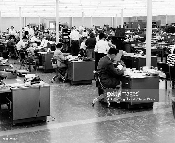1950s LARGE OPEN OFFICE...