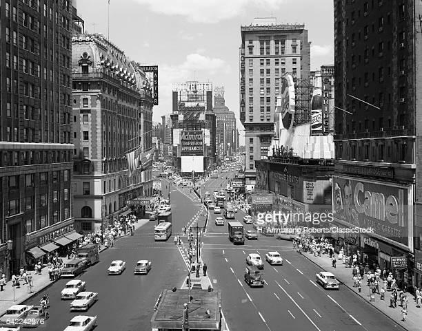 1950s LOOKING NORTH AT...