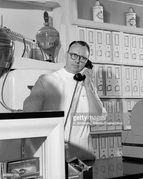 1950s MAN PHARMACIST...