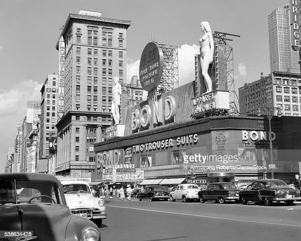 1950s NEW YORK CITY TIMES...
