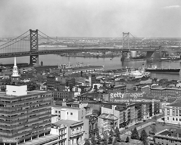 175 fotos e imágenes de Benjamin Franklin Bridge - Getty Images