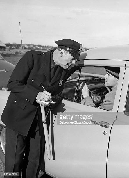 1950s POLICEMAN WITH...