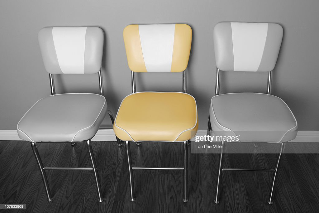 1950s retro kitchen chairs stock photo getty images