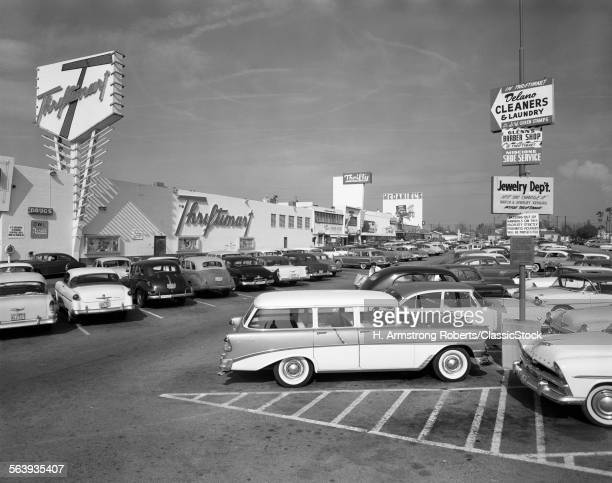 1950s SHOPPING CENTER...