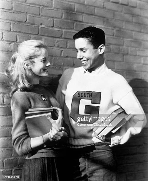 1950s TEENAGE COUPLE...