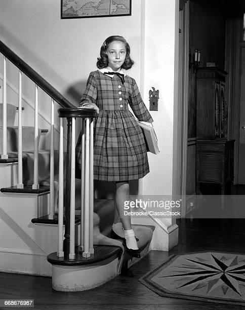 1950s TEENAGE GIRL IN...